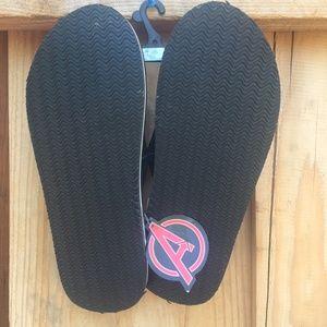 90d87061276 Marvel Captain America Shoes - Marvel Captain America Shield (Avenger) Flip  Flops